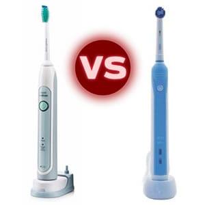 Sonicare vs. Oral-B