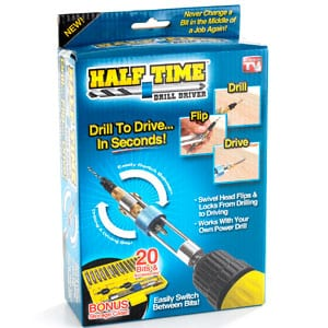 Does the Half Time Drill Driver really work?