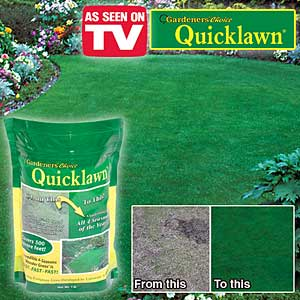 Does Quicklawn really work?