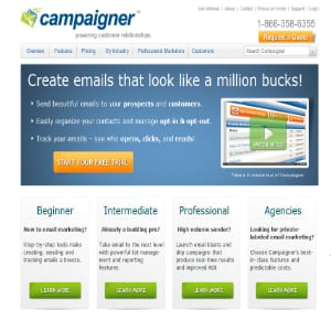 Does Campaigner work?