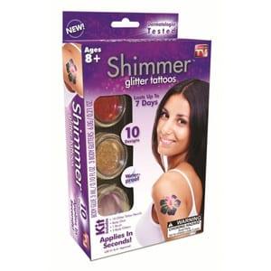 Do Shimmer Glitter Tattoos work?