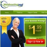 Is Web Hosting Pad a good host?