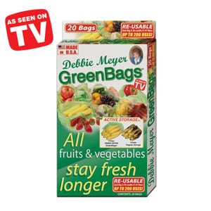 Do Green Bags work?  sc 1 st  Does It Really Work? & See if Green Bags by Debbie Meyer Really Keep Food Fresh for Weeks