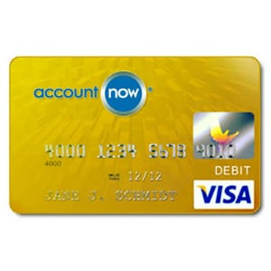 Does the AccountNow Visa Card work?