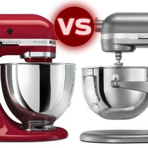 Kitchen Aid Artisan Vs Professional