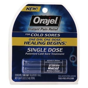 Does Orajel Single Dose work?