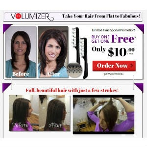 Does The Volumizer work?