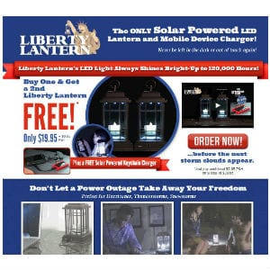 Does Liberty Lantern work