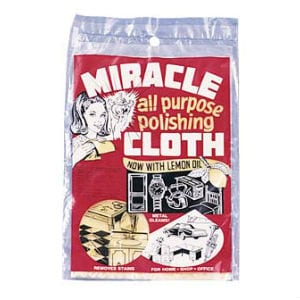 Does the Miracle Cloth work