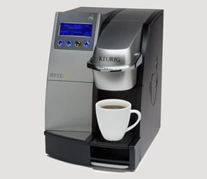 do keurig commercial coffee makers work