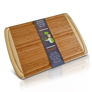 does the organic bamboo cutting board work