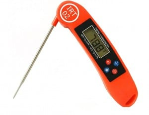 does the instant read talking thermometer work?