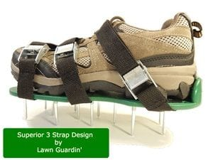 Does the Extra Sturdy Lawn Aerator Shoes Work?