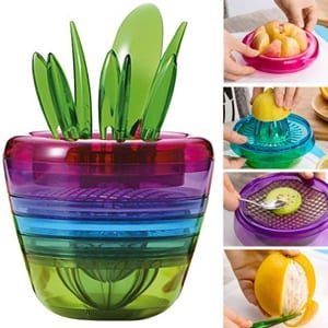 Does the OLizeeTM Creative Fruits Plant Multi Kitchen Tool Work?