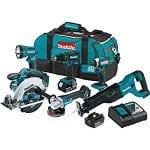 Does the Makita XT610 LXT Cordless 6 Piece Combo Tool Kit Work?