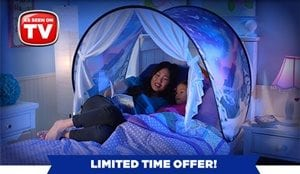 Dream Tents Review A Novelty Sleep Item For The Kids
