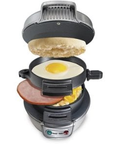 Does the Hamilton Beach 25475A Breakfast Sandwich Maker Work?