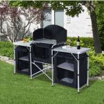 Outsunny Portable Camp Kitchen