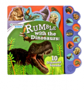 Does the Discovery Kids Dinosaurs Rumble Sound Book Work?