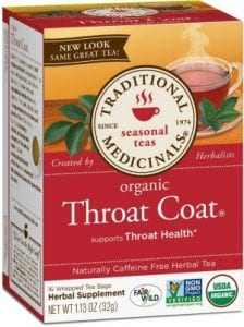 Does Organic Throat Coat Tea Work?