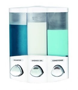 Does the Euro Series TRIO 3-Chamber Soap and Shower Dispenser Work?