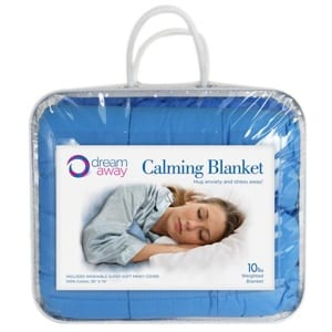 Does the Dream Away Calming Weighted Blanket Work?