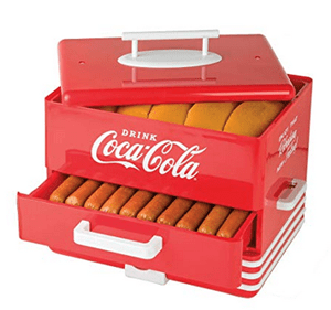 Does the Large Coca Cola Hot Dog Steamer Work?